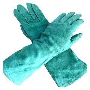 Vintage Yves Saint Laurent Suede Gloves